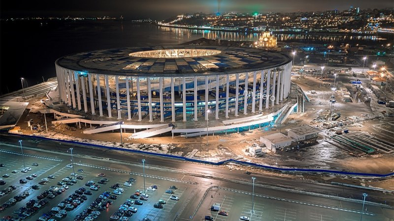 Nizhny Novgorod Stadium FIFA World Cup 2018