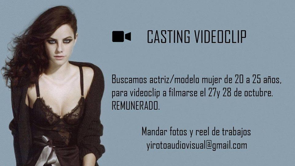 fa9415841 Casting para Videoclip se busca actriz   modelo entre 20 a 25 años ...