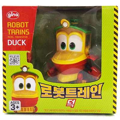 Toys - ROBOT TRAINS Duck : Muñeco - Figura Transformable  Serie Clan TV 2018   A partir de 3 años  COMPRAR ESTE JUGUETE