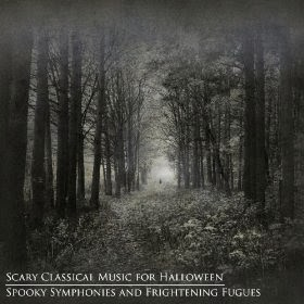 Scary classical music for Halloween- album cover