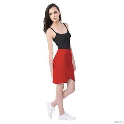 Faldas Rojas Cortas