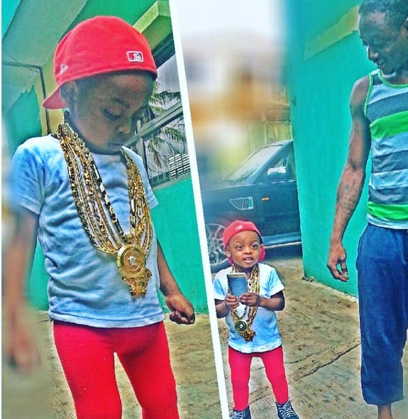 Terry G's son is swagged up in new photos