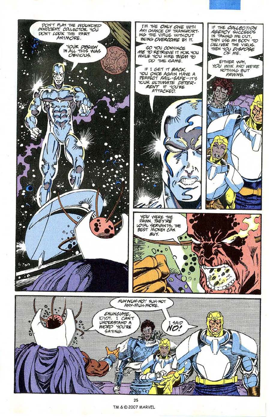 Read online Silver Surfer (1987) comic -  Issue #64 - 27