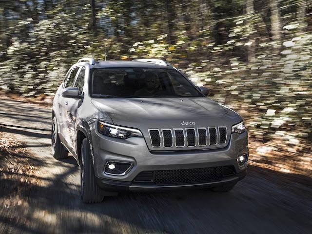 Jeep Cherokee 2019: informações oficiais