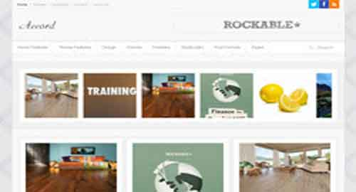 Accord Blogger Template