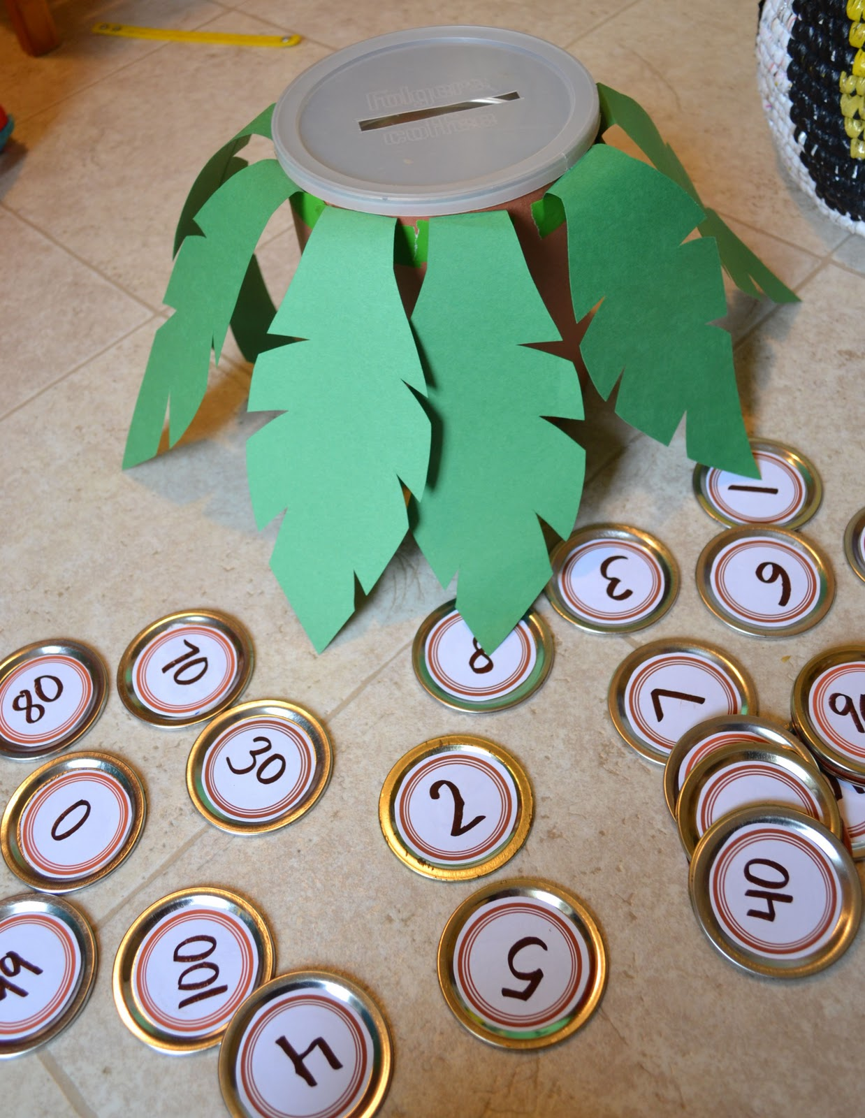 From The Hive Chicka Chicka Preschool Math