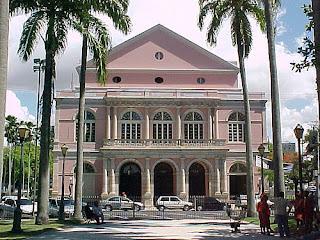Entrada Principal do Teatro Santa Isabel