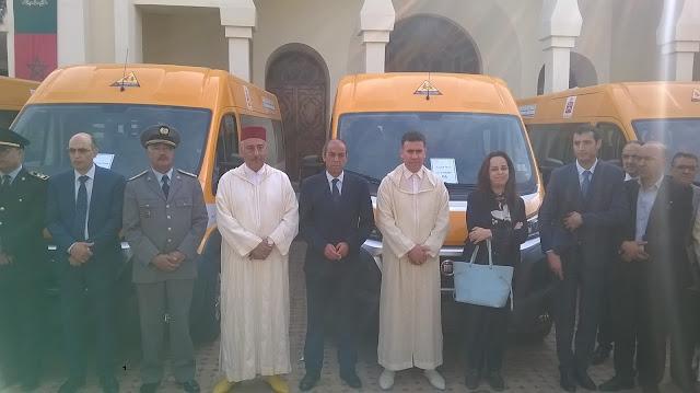 أسطول النقل المدرسي بمكناس يتعزز بثمان حافلات