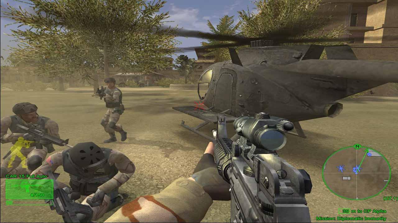 تحميل لعبة Delta Force Black Hawk Down برابط مباشر + تورنت