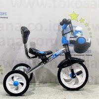 royal frog nikel sepeda roda tiga bmx