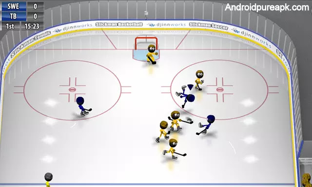 Stickman Ice Hockey Mod Apk