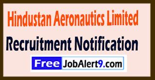 HAL Hindustan Aeronautics Limited  Recruitment Notification 2017 Last Date 27-07-2017