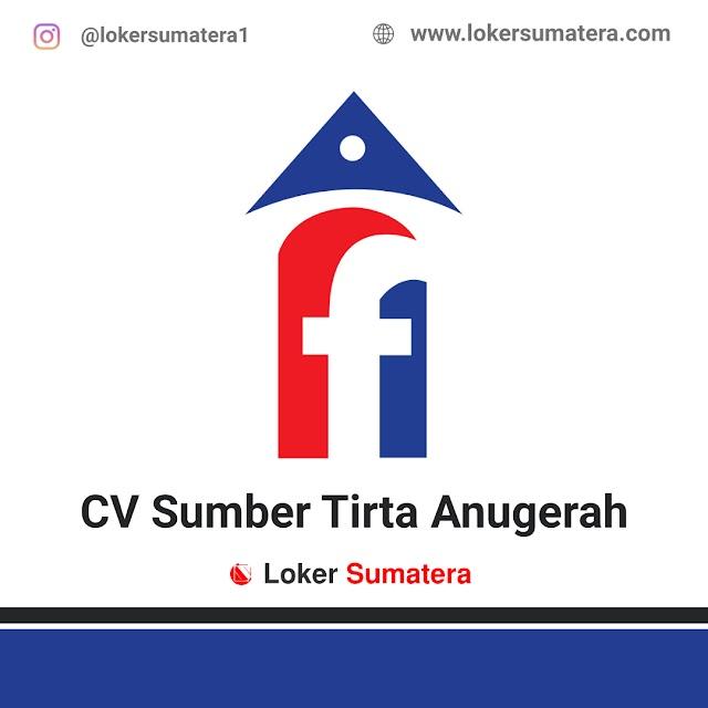 Lowongan Kerja Pekanbaru, CV Sumber Tirta Anugerah Juli 2021