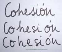 Resultat d'imatges de cohesion en la escritura