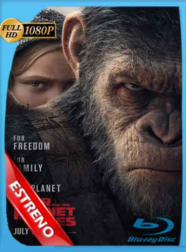 La guerra del Planeta de los Simios (2017)HD [1080p] Latino [Mega] SilvestreHD