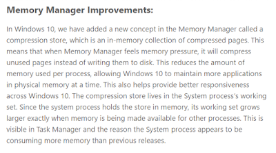 Mengenal Process System and Compressed Memory pada Windows 10 ~ Windows Mechanic