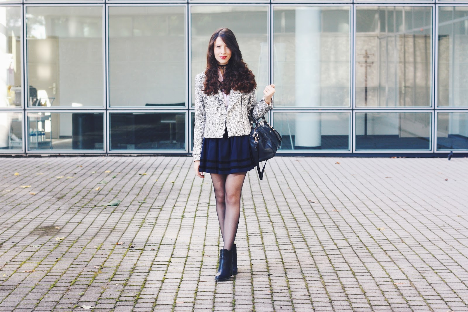 7626a39cbc7 the preppy girl who was wearing a perfecto