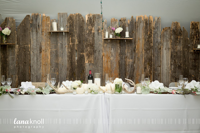 Party Professionals head table