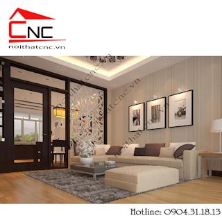 www.123nhanh.com: Các mẫu vách trang trí phòng khách đẹp không giống ai