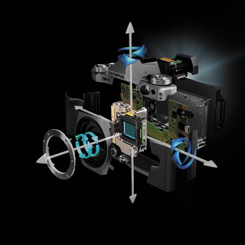 5-осевая стабилизация основанная на сдвиге сенсора