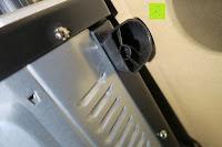 Füße: Andrew James – 23 Liter Mini Ofen und Grill mit 2 Kochplatten in Schwarz – 2900 Watt – 2 Jahre Garantie