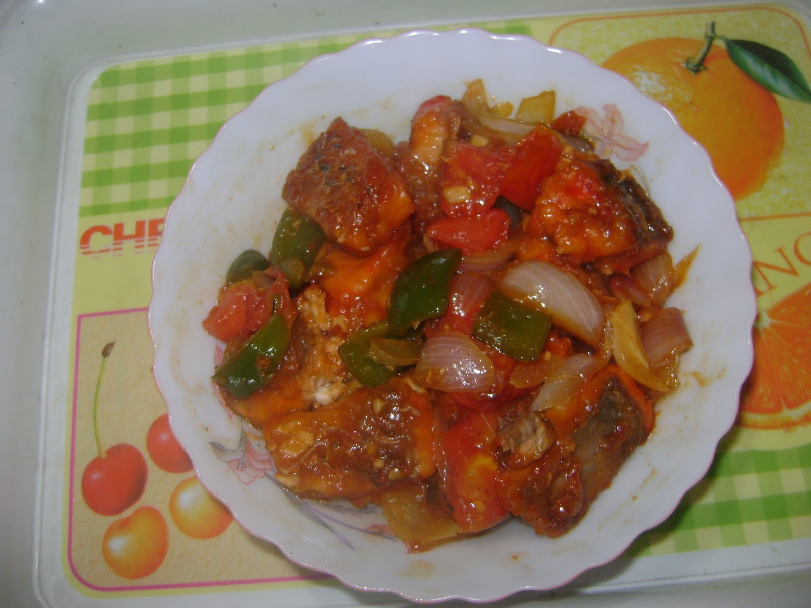 chilli fish is an indo chinese dish it is a very popular dish in marriarge parties or any other parties we often see serving chilli fish with many other - Rumis Kitchen 2
