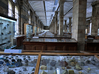 Colección de minerales, Museo Historia Natural de Londres