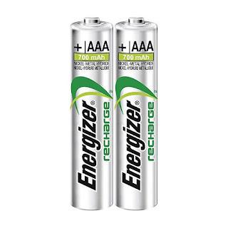 ministilo batteria ricaricabili energizer aaa
