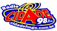 Rádio Cidade FM 98,1 de Águas Lindas de Goiás GO