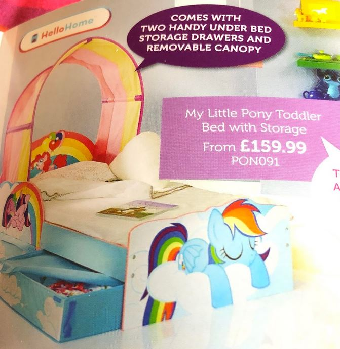 Equestria Daily Mlp Stuff Big Pony Bedroom Set Appears In Price Right Home Catalogue