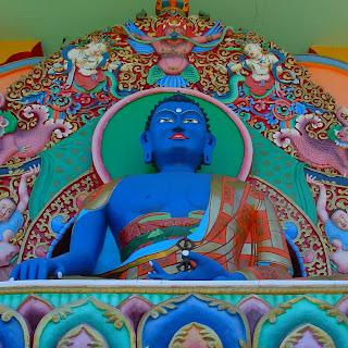 Buda, no Templo Tibetano de Três Coroas