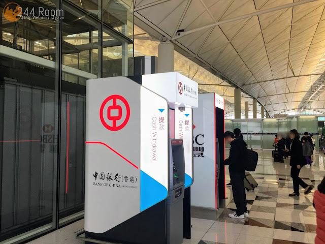 香港国際空港ATM ATM in HK International Airport