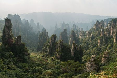 Zhangjiajie, Tiongkok