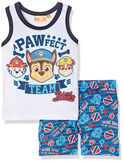 Amazon Discount for kids 3-6 years: t-shirt set, Paw Patrol Soft cotton £5.50 – £7.99