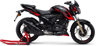 Top 8 Best bike in India under 2 lakh, tvs apache rtr 200 4v