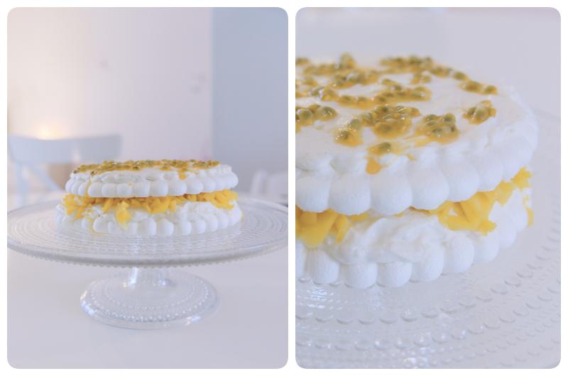 Hedelmäisen ihana mango-marenki-kakku :)