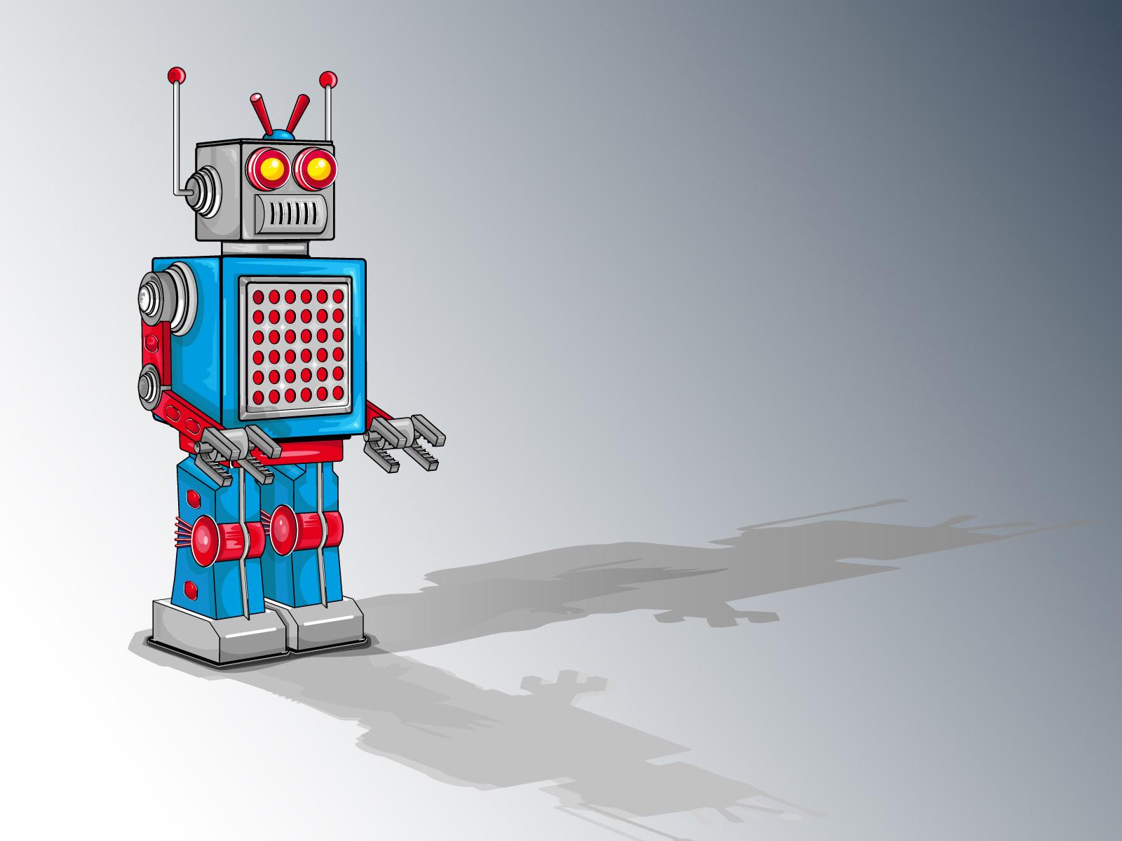 Cartoon Robot Wallpaper   Cartoon Images