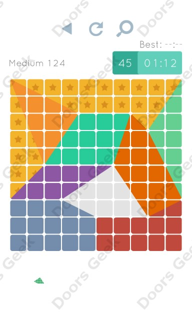 Cheats, Walkthrough for Blocks and Shapes Medium Level 124