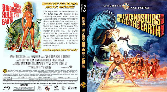 When Dinosaurs Ruled the Earth Bluray Cover