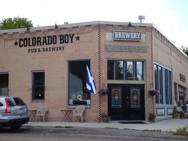 The Colorado Boy Brewery Building