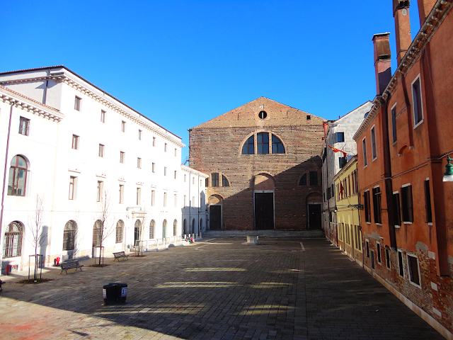 Sodoma gomora v benátském kostele San Lorenzo, jeptišky, Benátky