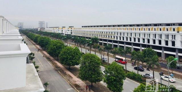 Nhà mặt phố dự án khu đô thị Geleximco Lê Trọng Tấn