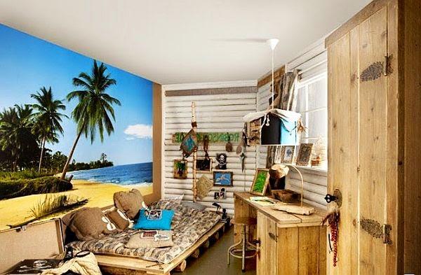 dormitorio temático infantil playa