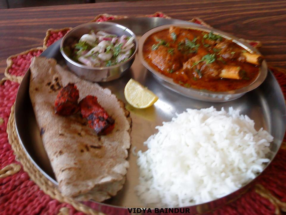 Vidya Baindur is Now Blogging !: MY SUNDAY LUNCH THALI ...