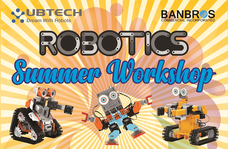 UBTECH announces Robotics Summer Workshop