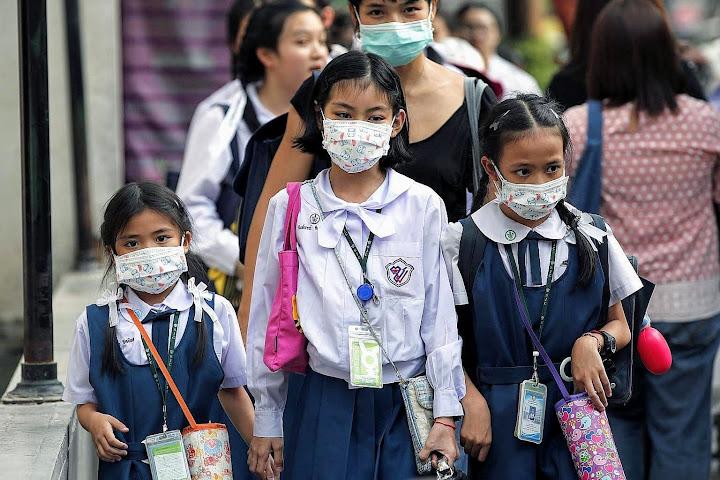 Сильный смог вТаиланде вынуждает власти закрывать школы — Thai Notes