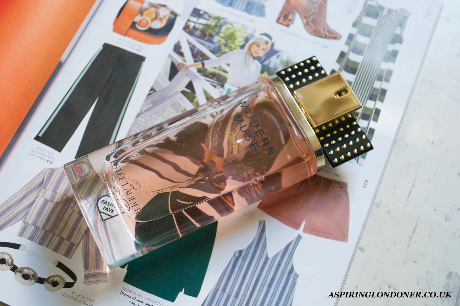 stee Lauder Modern Muse Chic Perfume - Aspiring Londoner