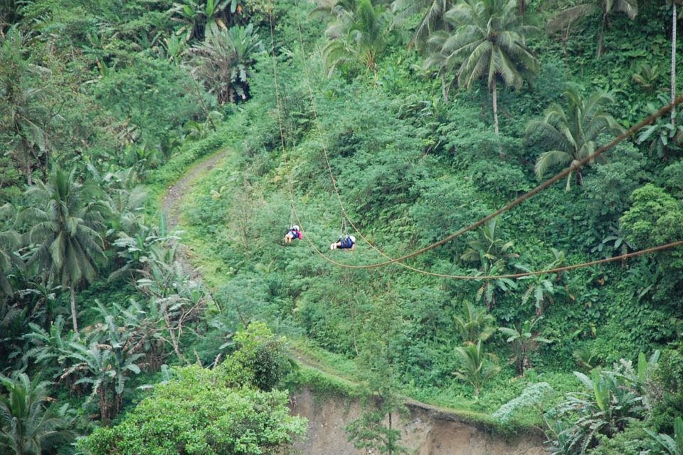 What to do in Leyte? Zipline at the Tallest Bridge