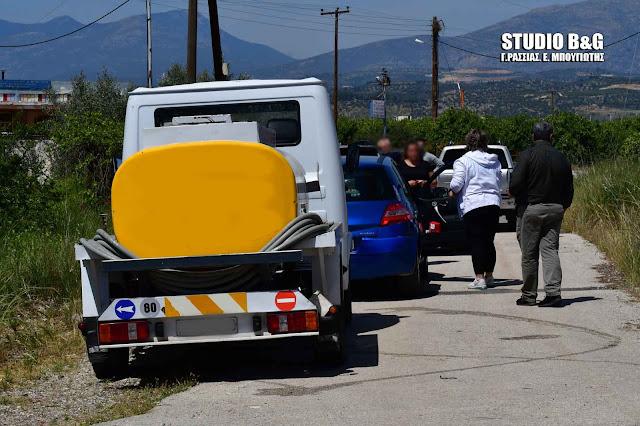 Τροχαίο ατύχημα στο Άργος με βυτιοφόρο