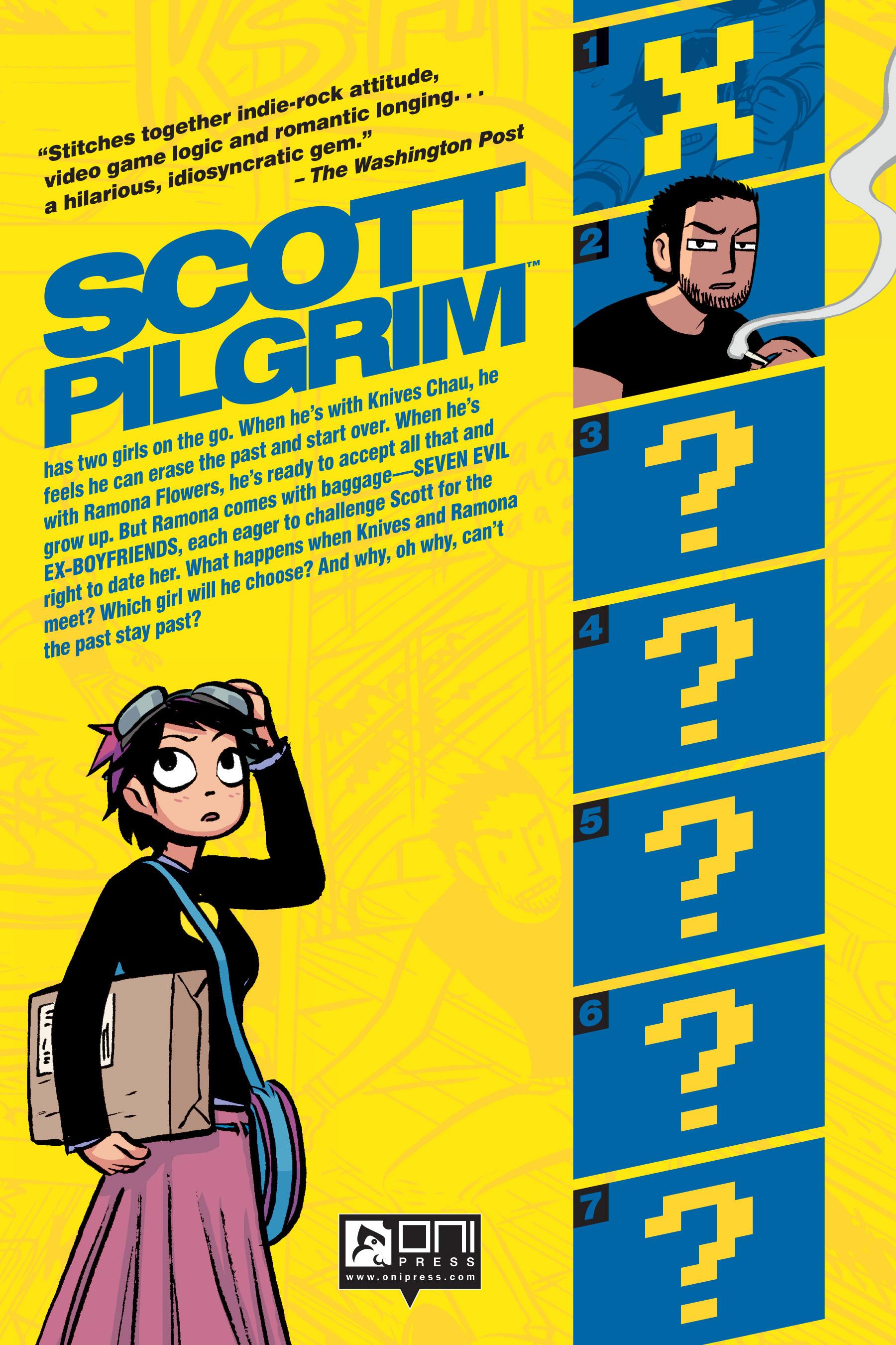 Read online Scott Pilgrim comic -  Issue #2 - 205